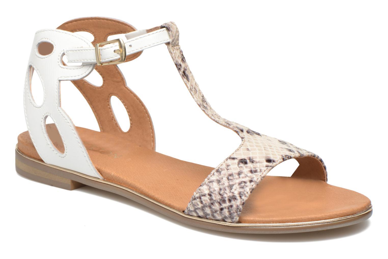 Sandales et nu-pieds Karston Sonat Blanc vue détail/paire