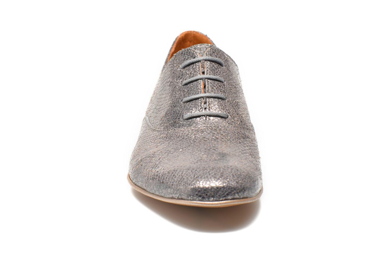 Schnürschuhe Karston Joshoi grau schuhe getragen