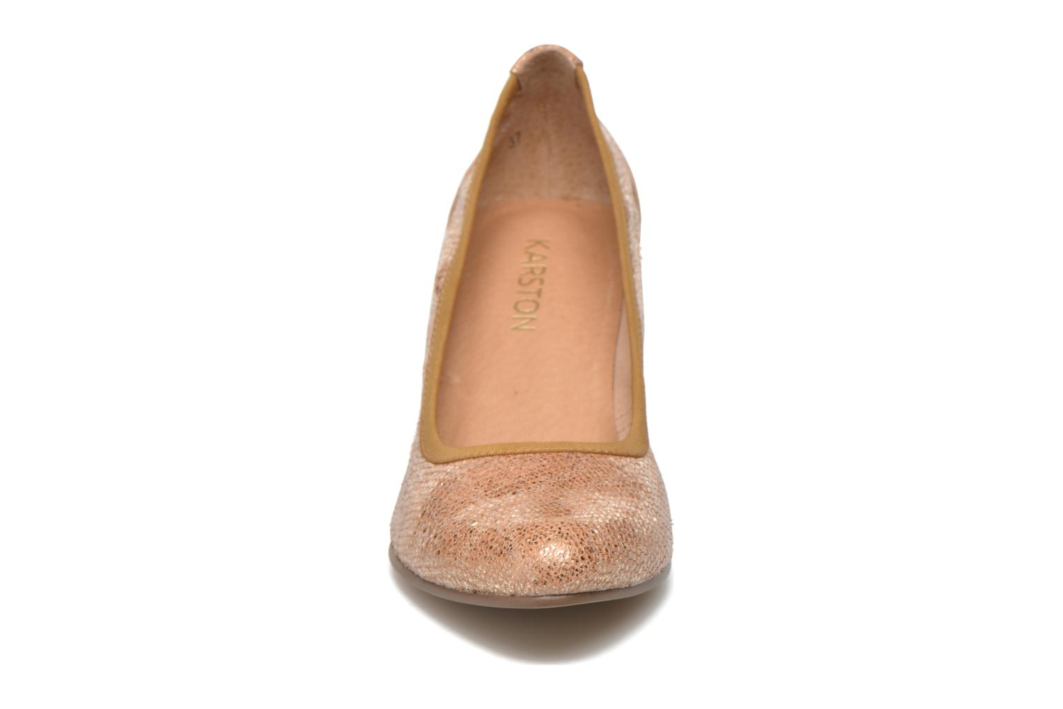 High heels Karston Aventor Beige model view