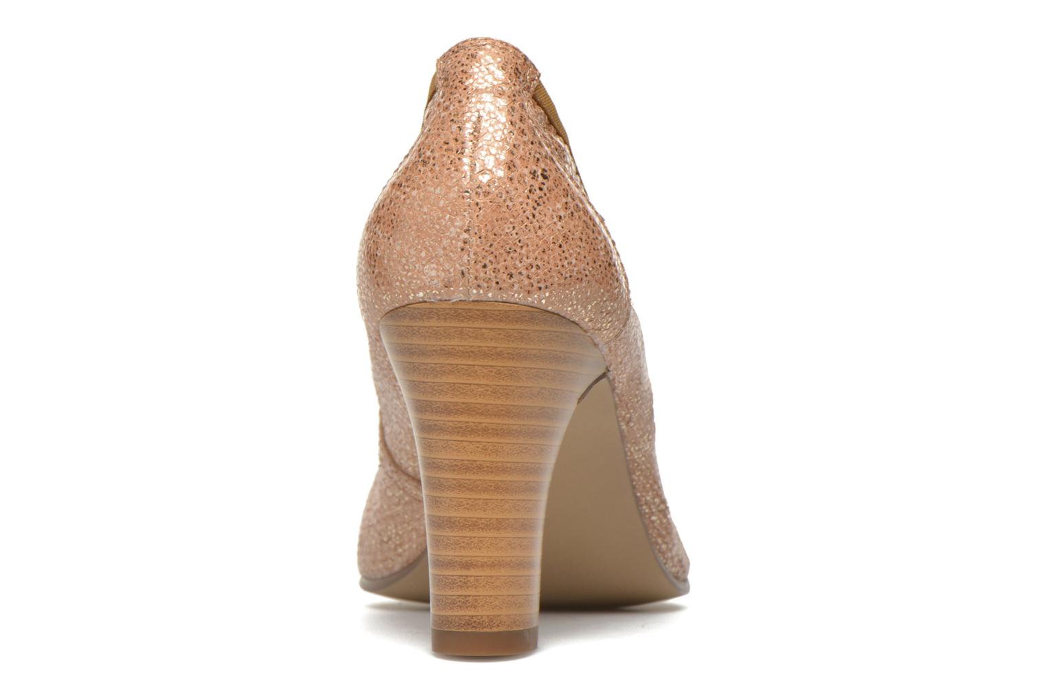 High heels Karston Aventor Beige view from the right