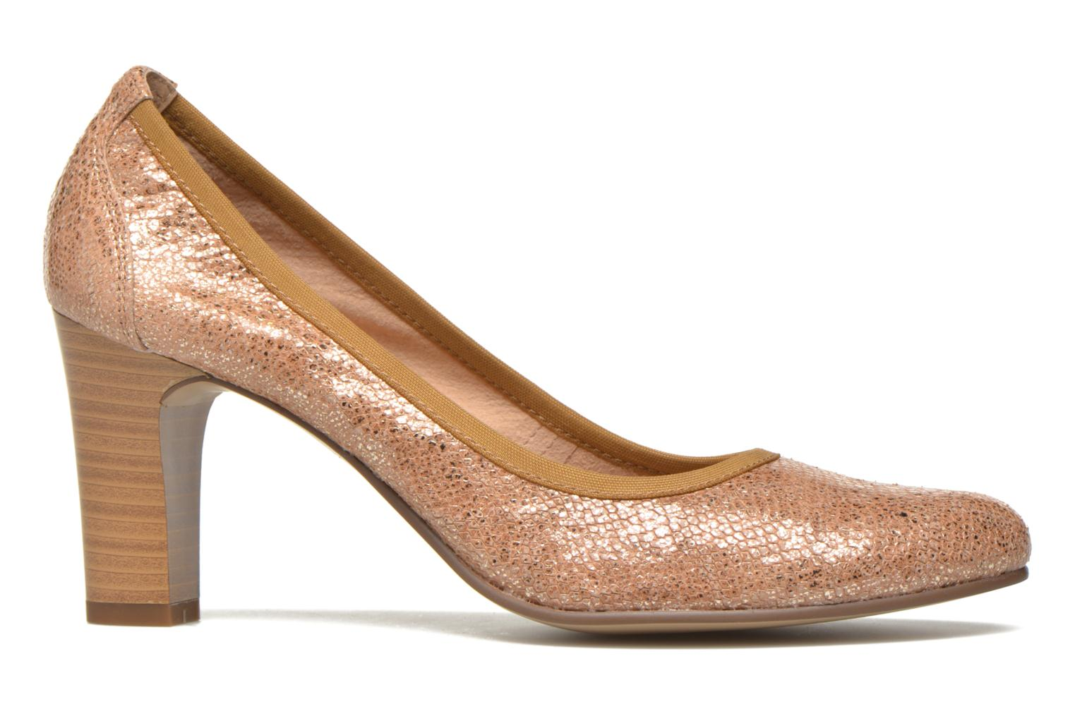High heels Karston Aventor Beige back view