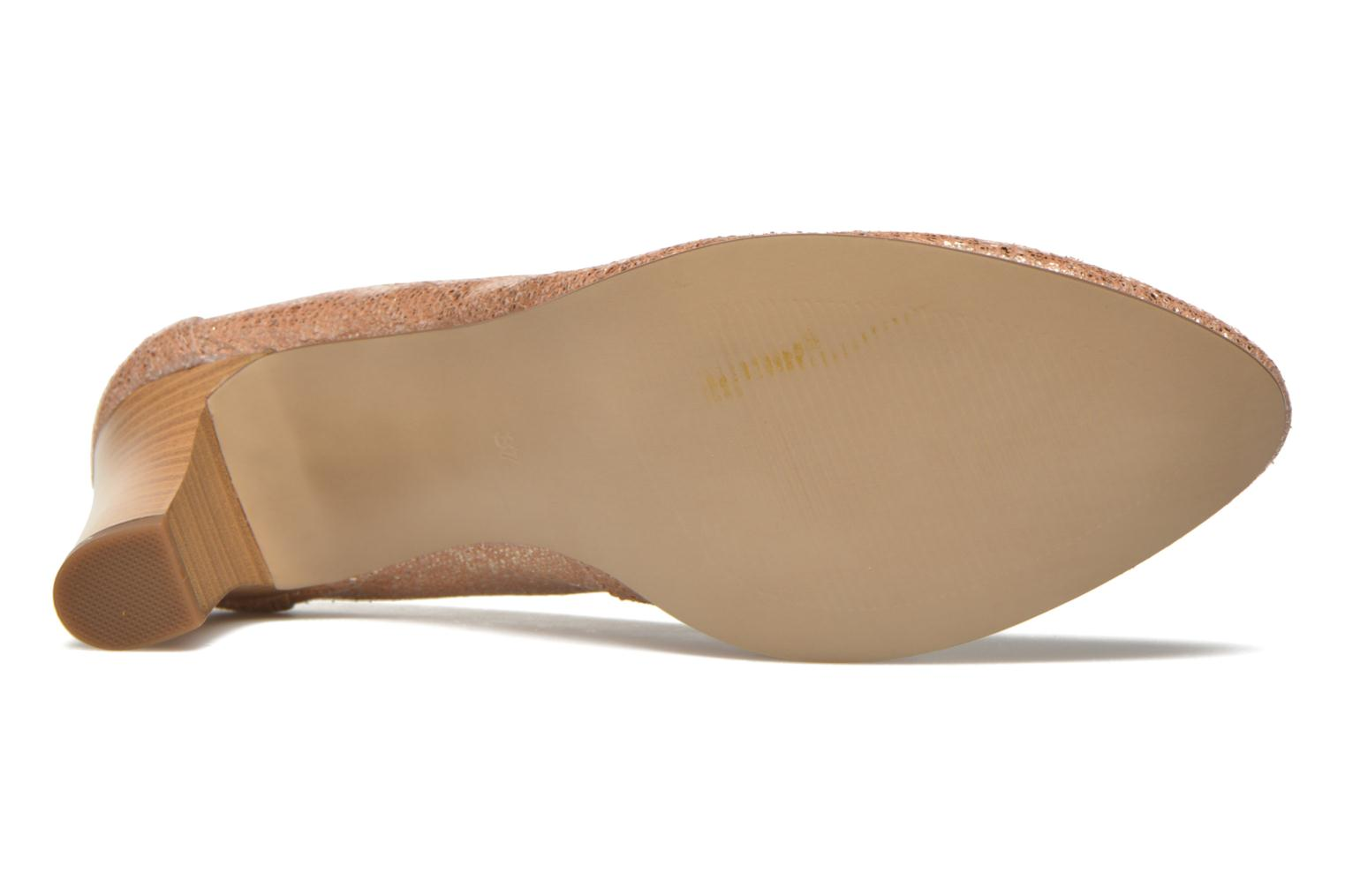 High heels Karston Aventor Beige view from above