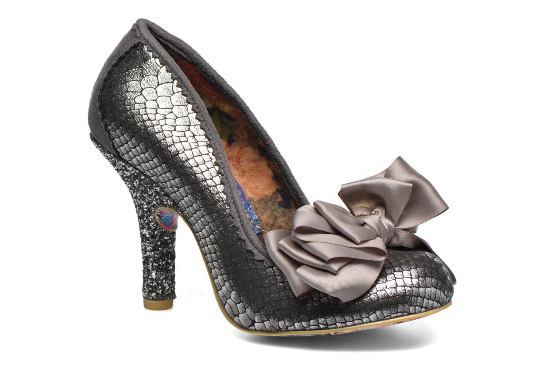 Zapatos de tacón Irregular choice Ascot Plateado vista de detalle   par 669fdb8ceb7b