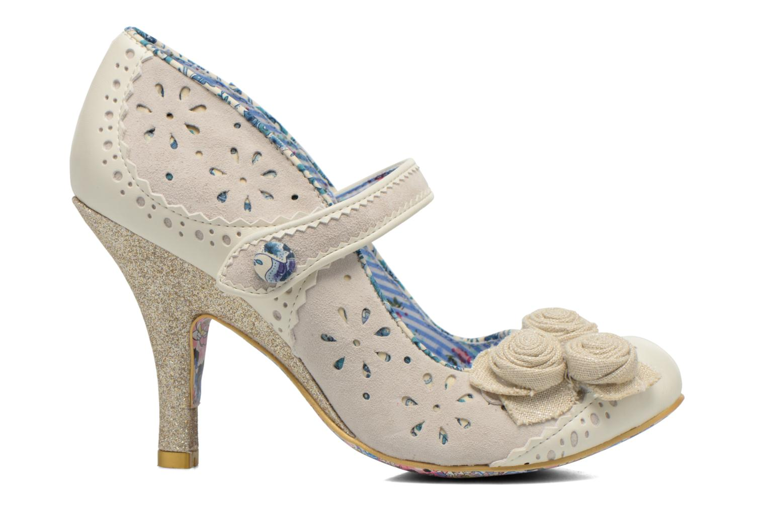 High heels Irregular choice Echo Beige back view