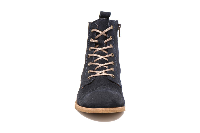 Bottines et boots Georgia Rose Casaki Bleu vue portées chaussures