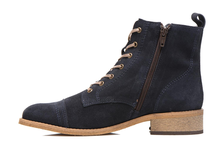 Bottines et boots Georgia Rose Casaki Bleu vue face