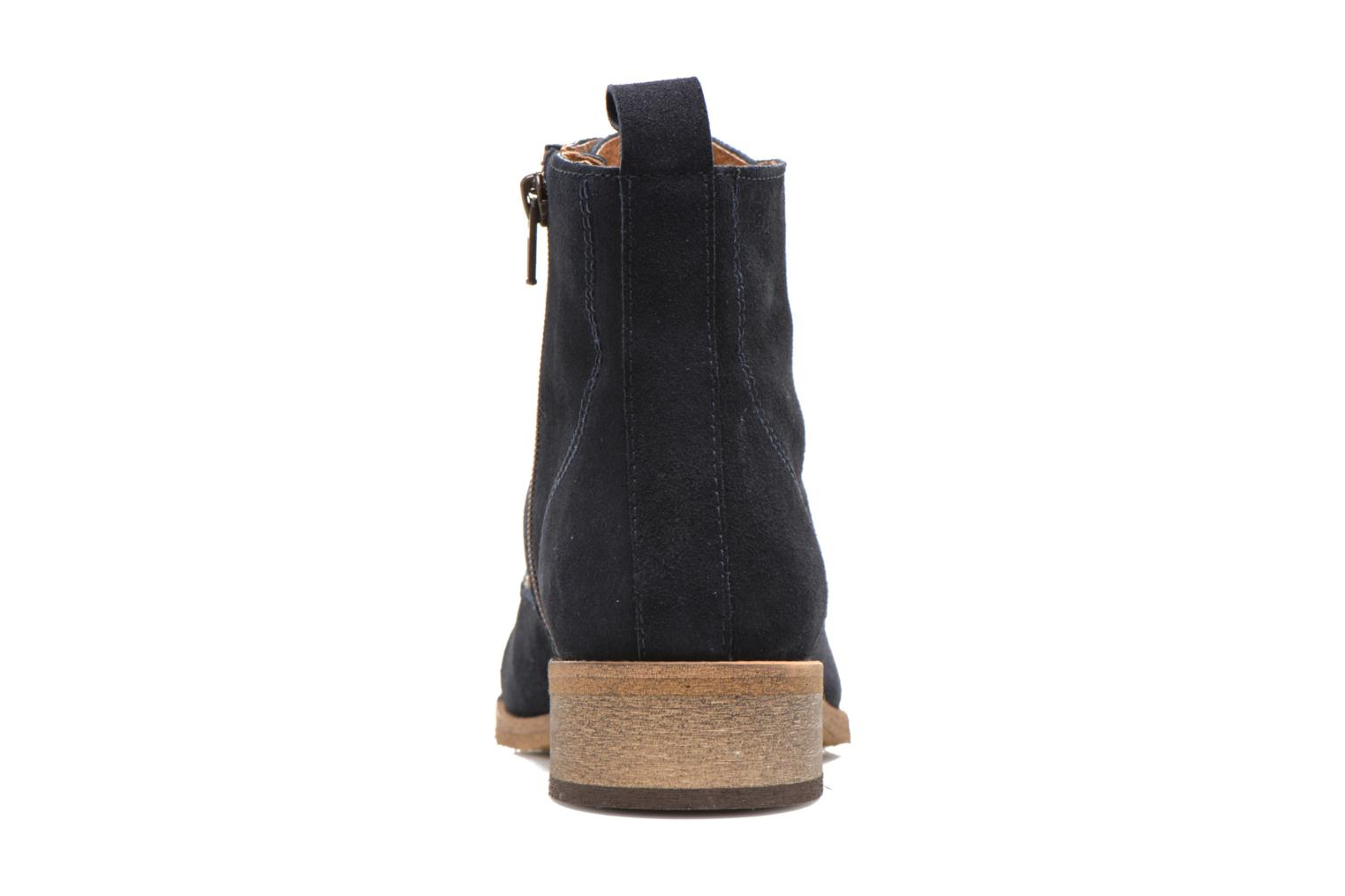 Ankle boots Georgia Rose Casaki Blue view from the right