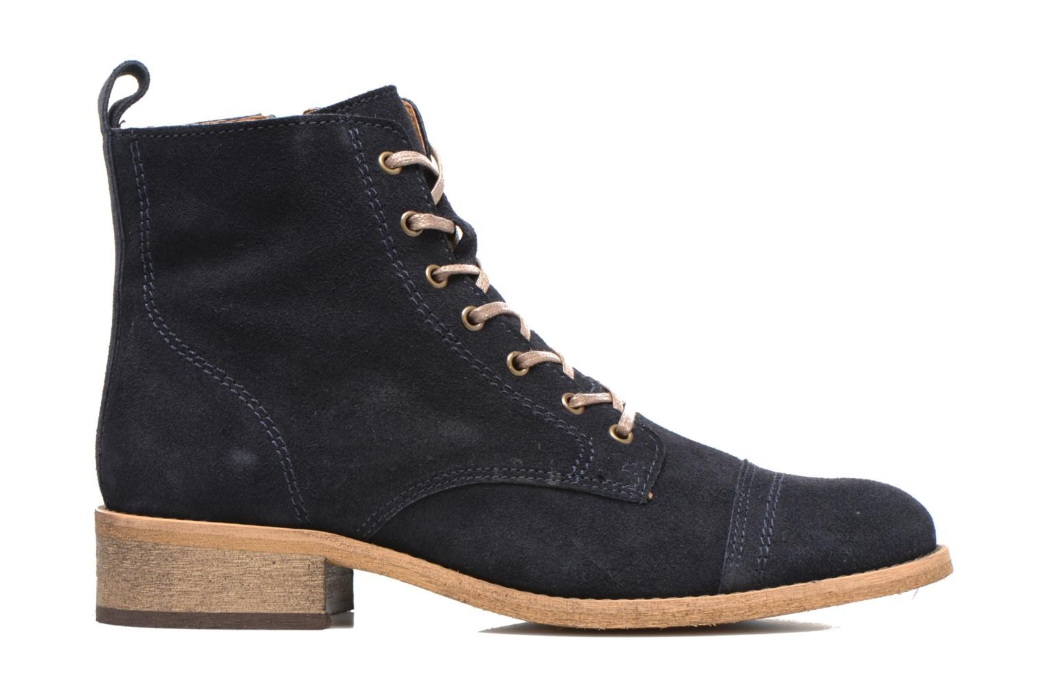 Ankle boots Georgia Rose Casaki Blue back view