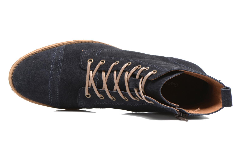 Bottines et boots Georgia Rose Casaki Bleu vue gauche