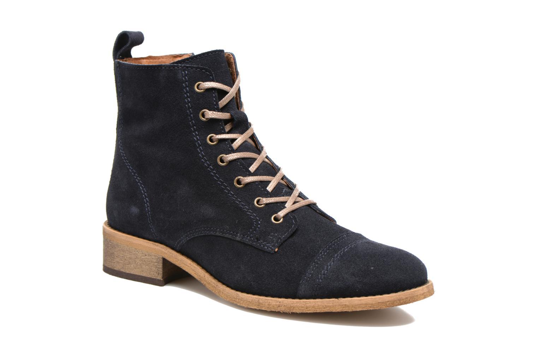 Ankelstøvler Georgia Rose Casaki Blå detaljeret billede af skoene