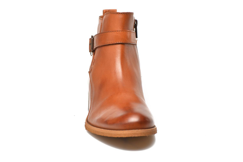 Bottines et boots Georgia Rose Colery Marron vue portées chaussures