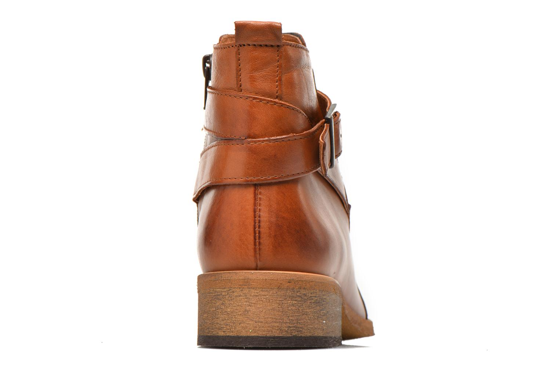 Bottines et boots Georgia Rose Colery Marron vue droite