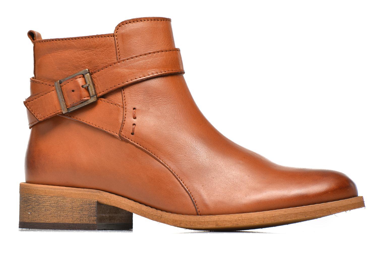 Bottines et boots Georgia Rose Colery Marron vue derrière