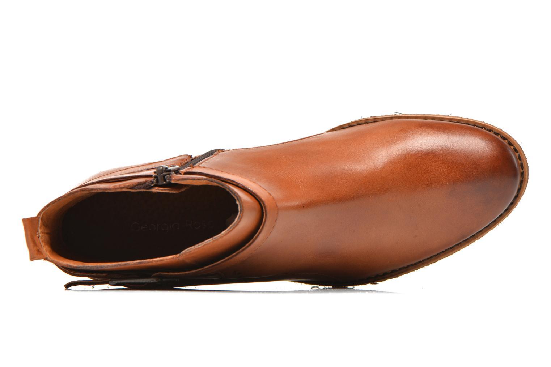 Bottines et boots Georgia Rose Colery Marron vue gauche