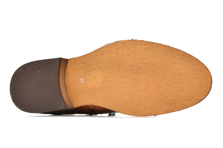 Bottines et boots Georgia Rose Colery Marron vue haut