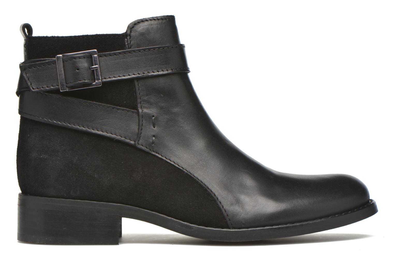 Bottines et boots Georgia Rose Colery Noir vue derrière
