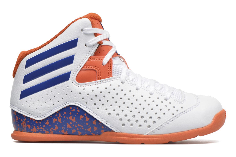 Chaussures de sport Adidas Performance NXT LVL SPD IV NBA K Blanc vue derrière