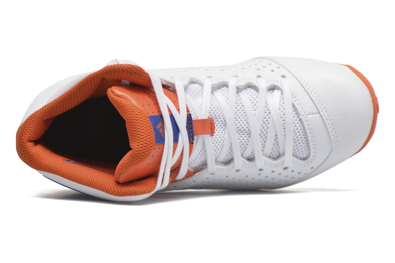 Sport shoes Adidas Performance NXT LVL SPD IV NBA K White view from the left
