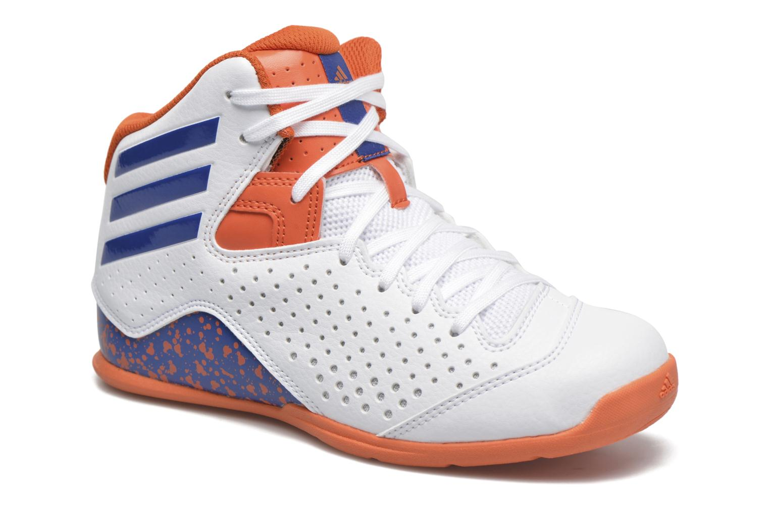 Sport shoes Adidas Performance NXT LVL SPD IV NBA K White detailed view/ Pair view