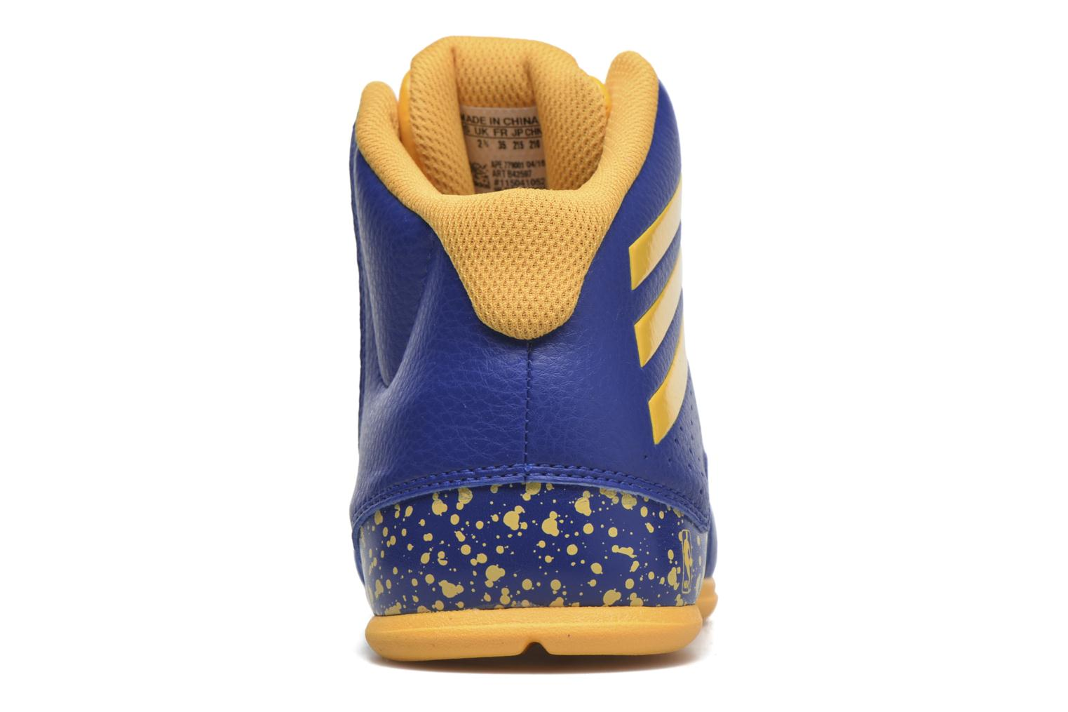 Sport shoes Adidas Performance NXT LVL SPD IV NBA K Blue view from the right