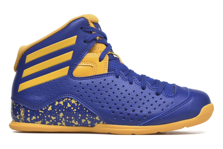 Chaussures de sport Adidas Performance NXT LVL SPD IV NBA K Bleu vue derrière