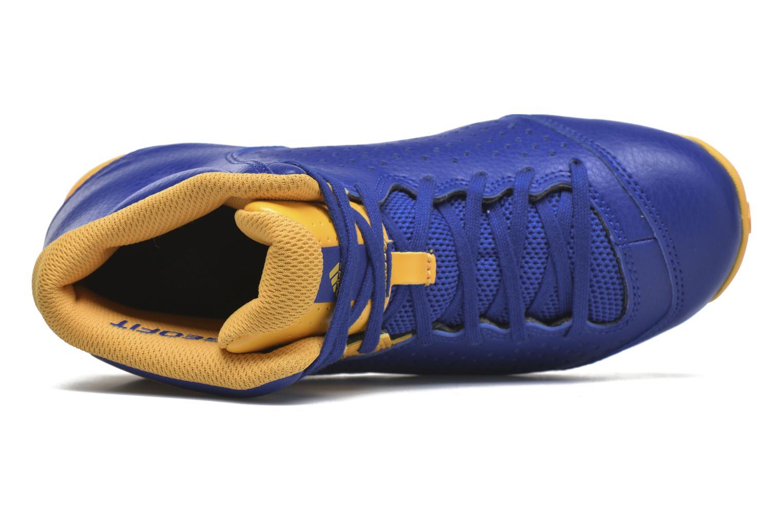 Sportschuhe Adidas Performance NXT LVL SPD IV NBA K blau ansicht von links
