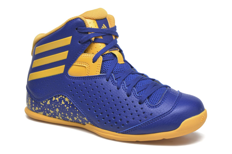 Sport shoes Adidas Performance NXT LVL SPD IV NBA K Blue detailed view/ Pair view