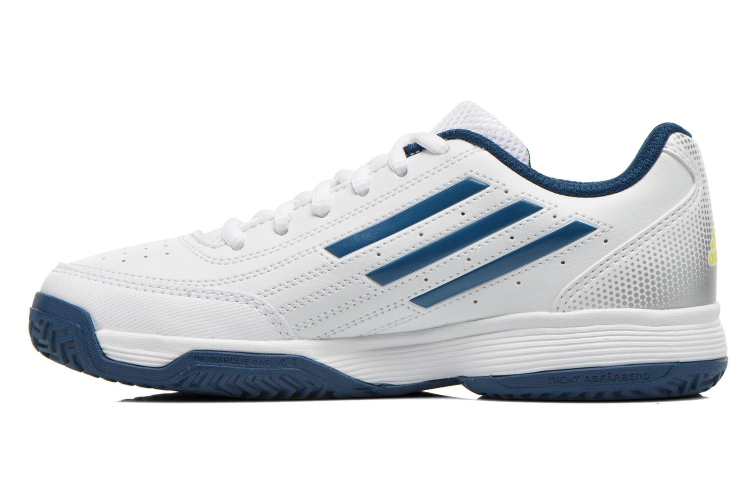 Scarpe sportive Adidas Performance Sonic Attack K Bianco immagine frontale