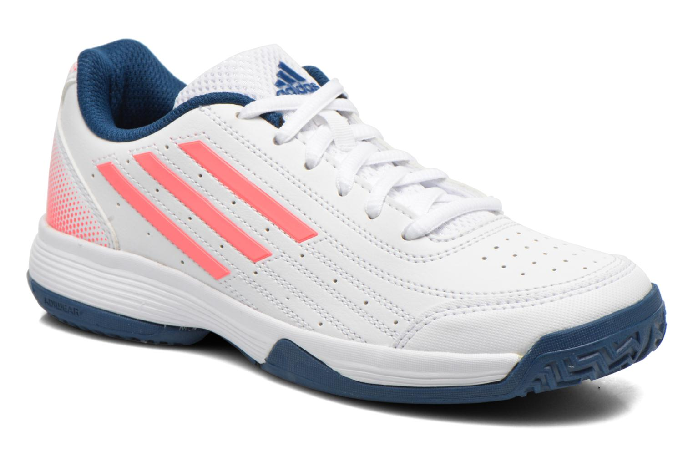 Sportssko Adidas Performance Sonic Attack K Hvid detaljeret billede af skoene