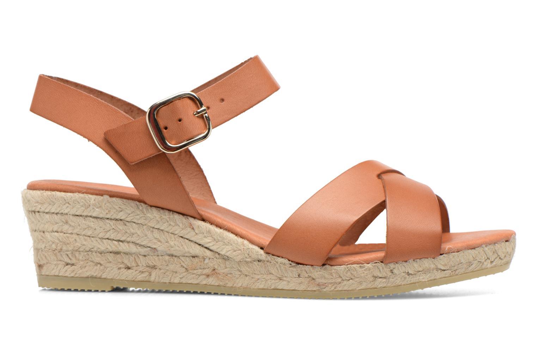 Sandales et nu-pieds Georgia Rose Inof Marron vue derrière
