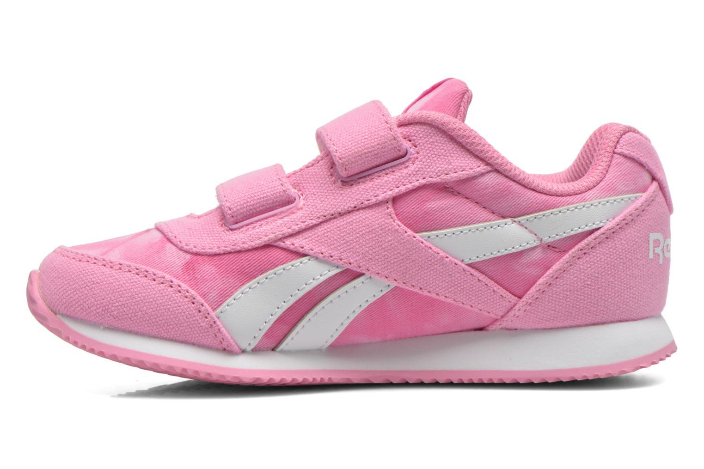 Sneaker Reebok Reebok Royal Cljog 2Gr 2V rosa ansicht von vorne