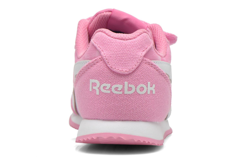 Sneaker Reebok Reebok Royal Cljog 2Gr 2V rosa ansicht von rechts