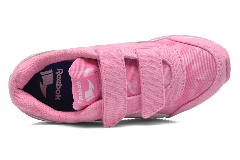 Sneaker Reebok Reebok Royal Cljog 2Gr 2V rosa ansicht von links