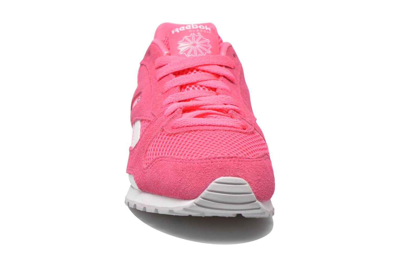 Sneaker Reebok Gl 3000 Kids rosa schuhe getragen