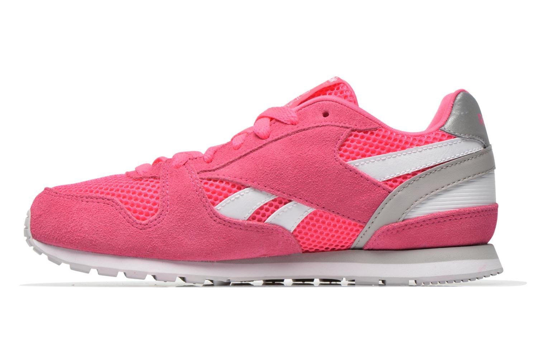 Sneaker Reebok Gl 3000 Kids rosa ansicht von vorne