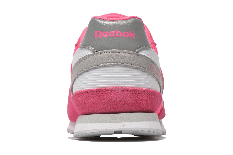 Sneaker Reebok Gl 3000 Kids rosa ansicht von rechts