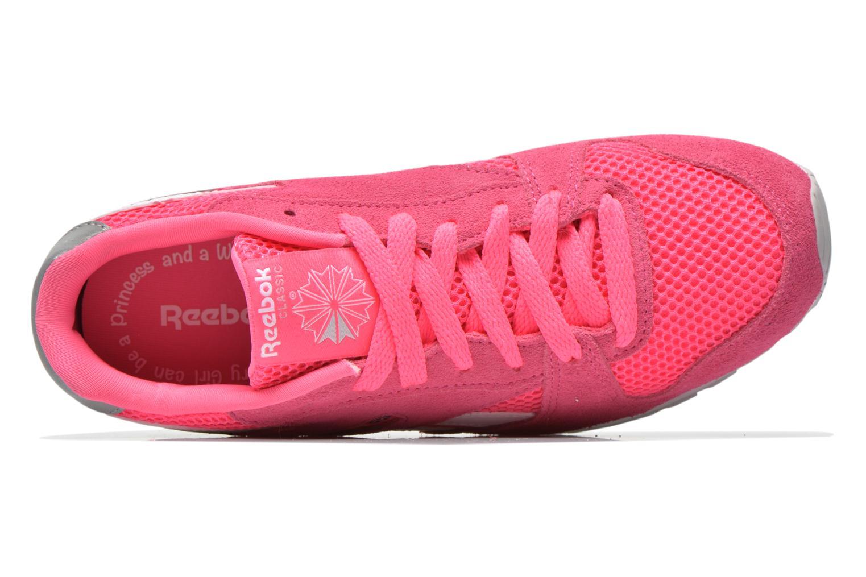 Sneaker Reebok Gl 3000 Kids rosa ansicht von links