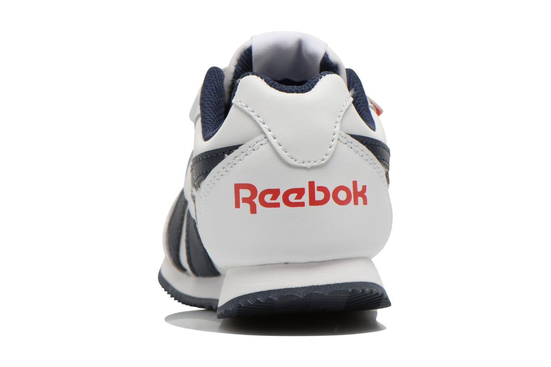 Reebok Royal Cljog 2 2V White/Collegiate Navy/Red Rush