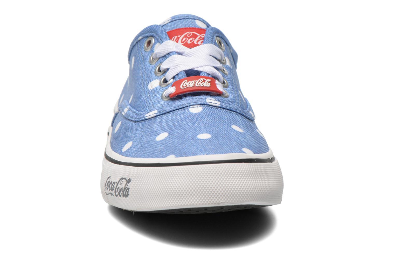 Baskets Coca-cola shoes Kick Rimini Bleu vue portées chaussures
