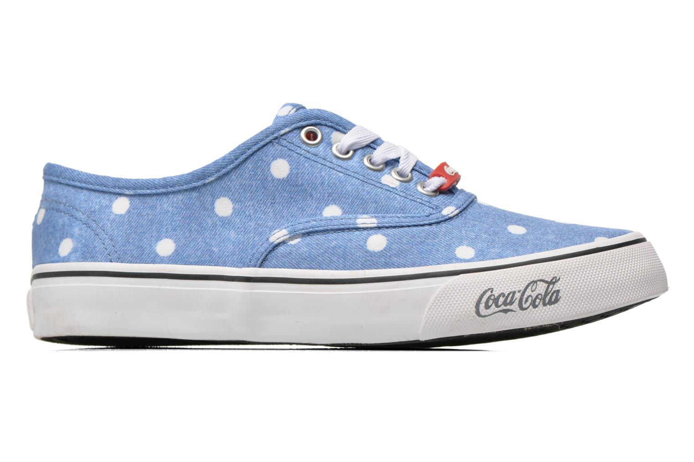 Baskets Coca-cola shoes Kick Rimini Bleu vue derrière