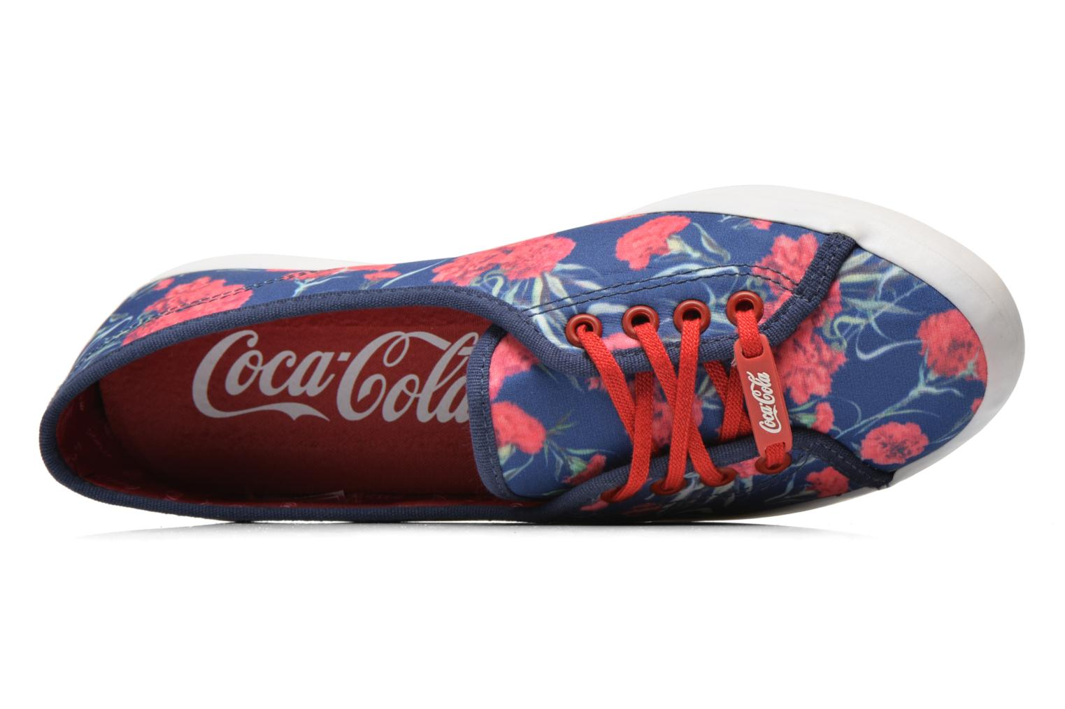 Trainers Coca-cola shoes Litus Luca Multicolor view from the left