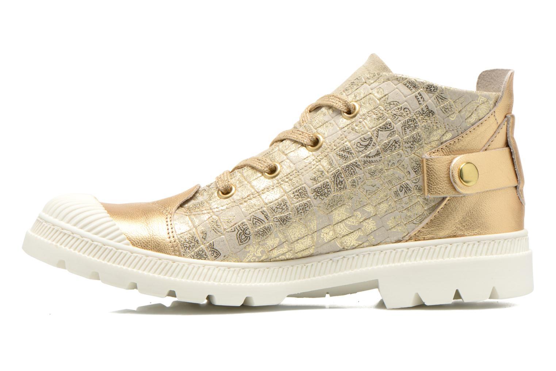 Sneaker Pataugas Aix/CA gold/bronze ansicht von vorne