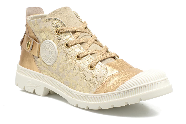 Sneaker Pataugas Aix/CA gold/bronze detaillierte ansicht/modell