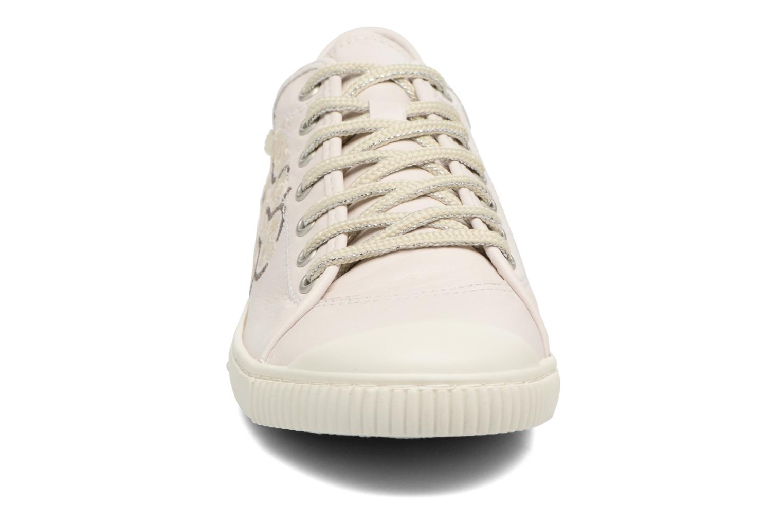 Baskets Pataugas Boutchou/B Beige vue portées chaussures