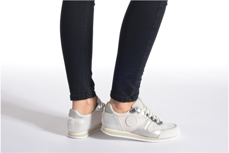 Sneaker Pataugas Idol/MI mehrfarbig ansicht von unten / tasche getragen