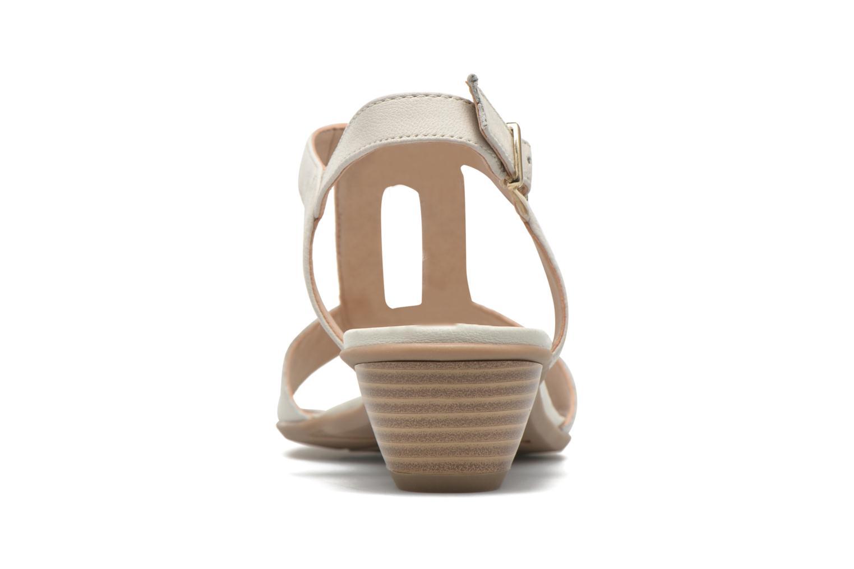Sandales et nu-pieds Sweet Chenel Blanc vue droite