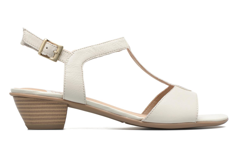 Sandales et nu-pieds Sweet Chenel Blanc vue derrière