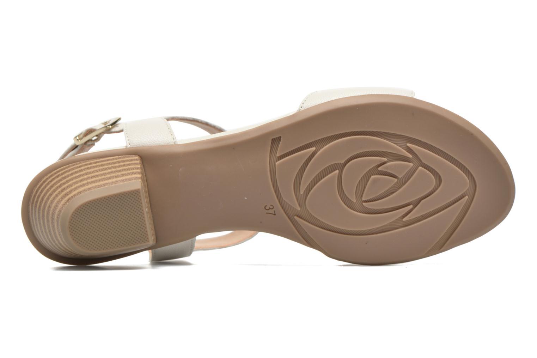 Sandales et nu-pieds Sweet Chenel Blanc vue haut