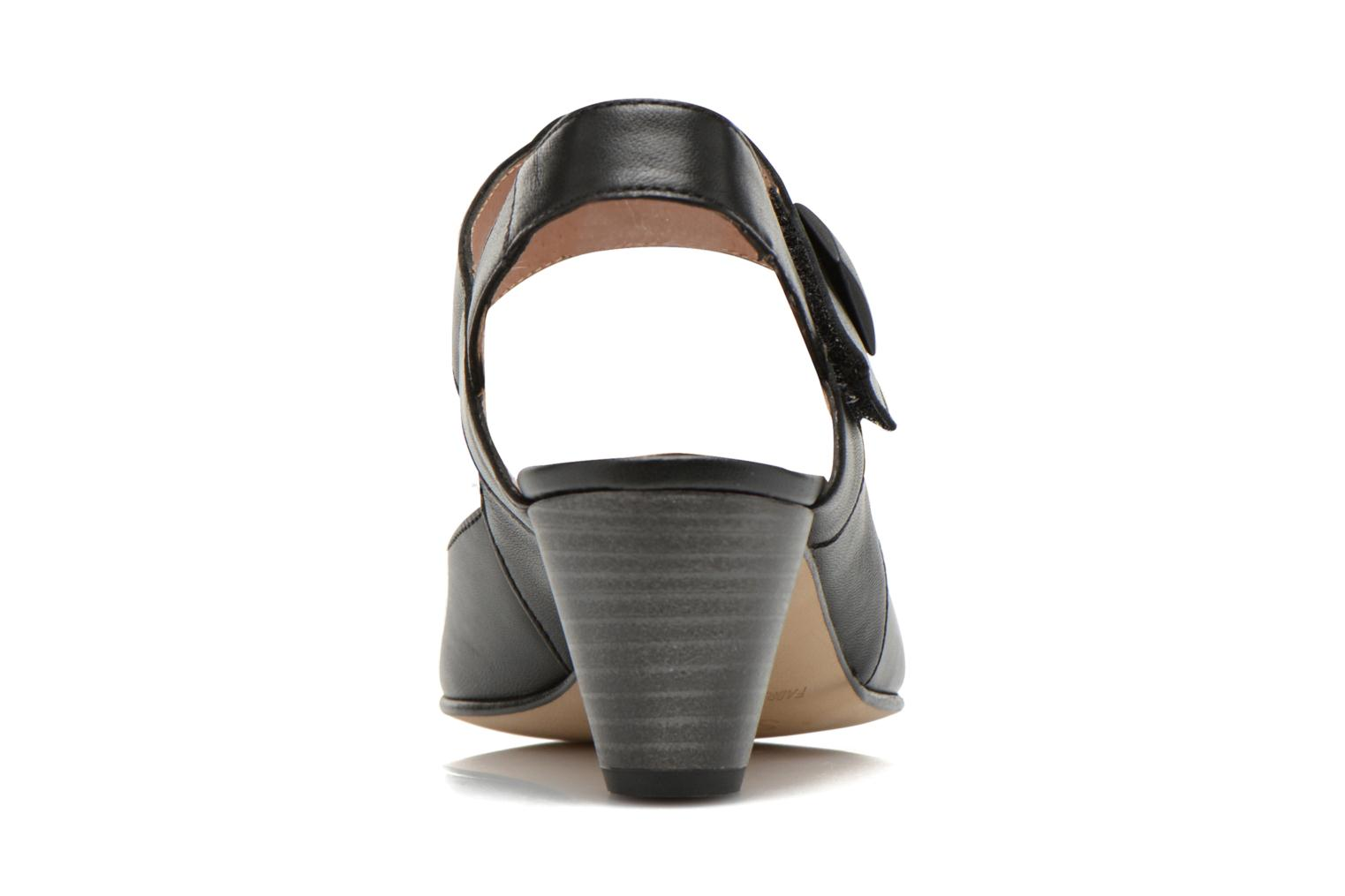 High heels Sweet Akax Black view from the right