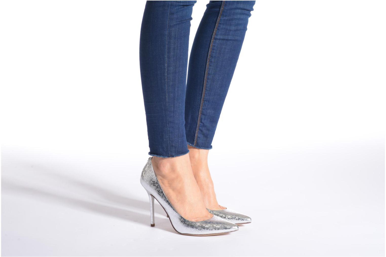 Zapatos de tacón Guess Plasma6 Blanco vista de abajo